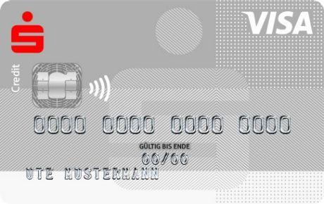 Sparkasse Karte.Visa Card Silber Kreditkarte Sparkasse Staufen Breisach